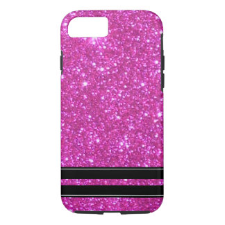 Pink Glitter Sparkly Sparkle Girly CricketDiane iPhone 7 Case