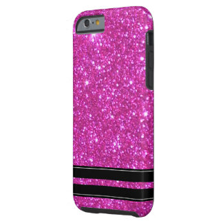 Pink Glitter Sparkly Sparkle Girly iPhone Cases Tough iPhone 6 Case