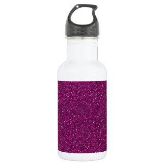 Pink Glitter Stainless Steel Water Bottle