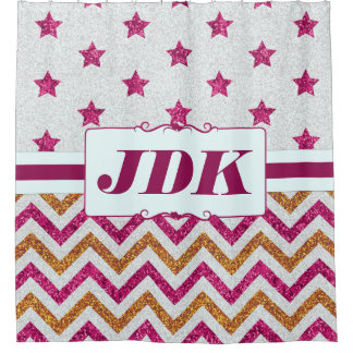 Personalized Fabric Shower Curtains