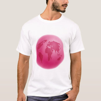 Pink Globe T-Shirt