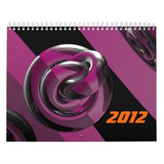 Pink & glossy calendar