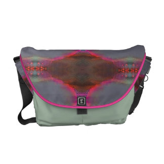 Pink glow 1 courier bag