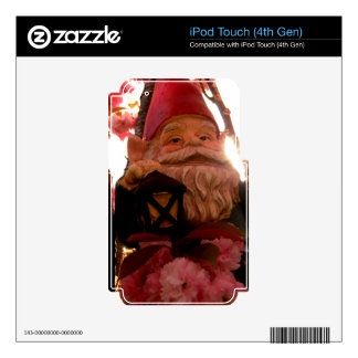 Pink Glow Gerome Decals For iPod Touch 4G