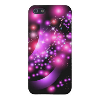PINK GLOWING STARS IPHONE 5 CASE