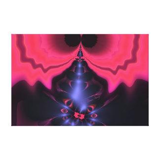 Pink Goblin – Magenta & Violet Delight Canvas Print