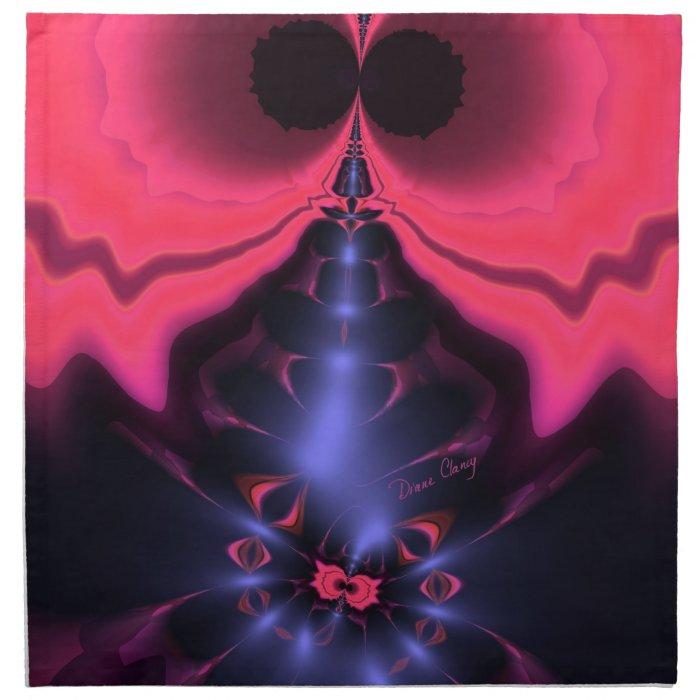 Pink Goblin – Magenta & Violet Delight Cloth Napkin