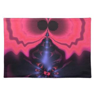 Pink Goblin – Magenta & Violet Delight Cloth Placemat