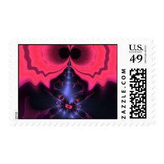Pink Goblin – Magenta & Violet Delight Postage Stamp