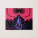 Pink Goblin – Magenta & Violet Delight Jigsaw Puzzle