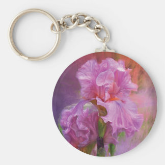 Pink Goddess Art Keychain