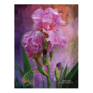 Pink Goddess Art Postcard