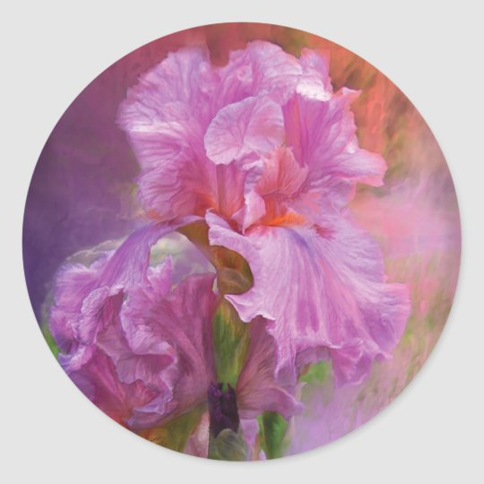 Pink Goddess Art Sticker
