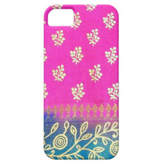 Pink Gold and Blue iPhone 5 Case