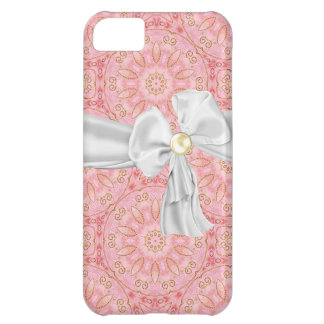 Pink, Gold and White iPhone 5 Case
