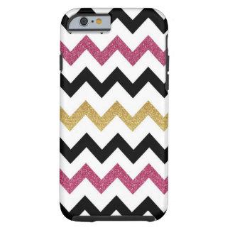 Pink & Gold Chevron iPhone 6 case iPhone 6 Case