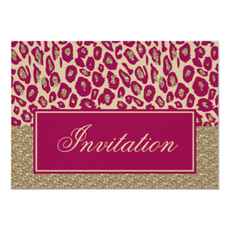 Pink Gold Chic Corporate party Invitation