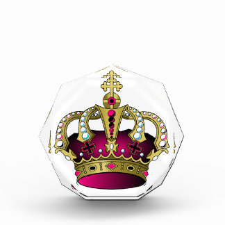 Pink & Gold Crown Award