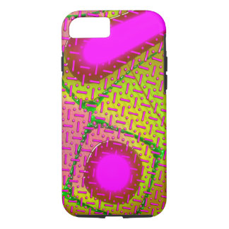 Pink & Gold Dichroic Psychedelic iPhone 7 Case