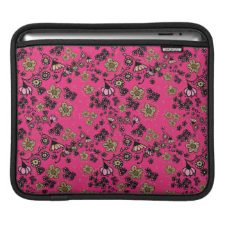 Pink & Gold Floral iPad Sleeve