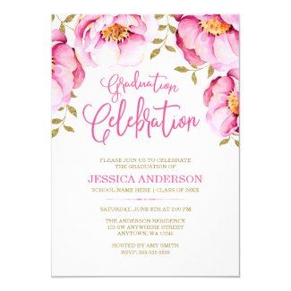 graduation party invitations tropical papers