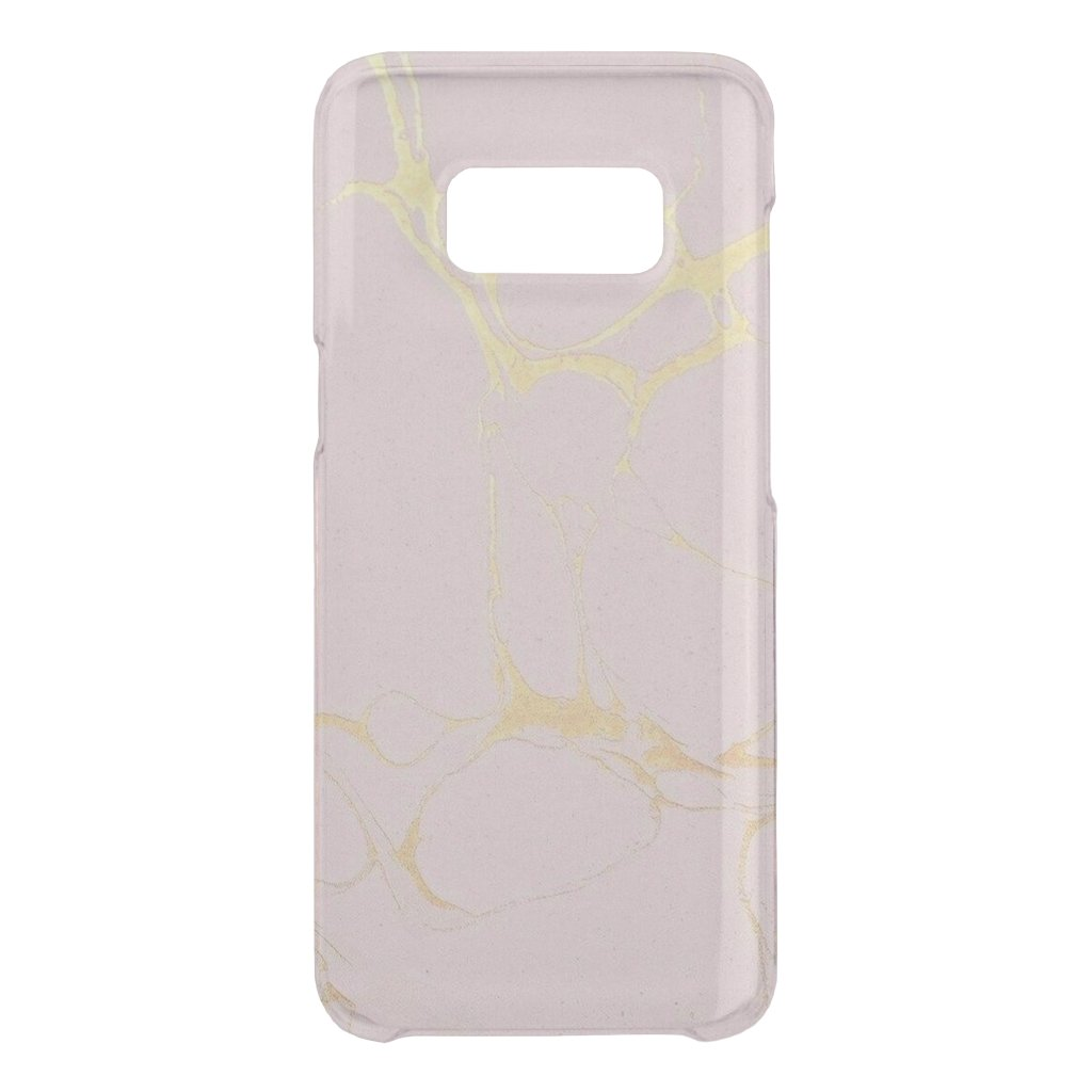 Pink Gold Marble Samsung Case