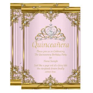 quinceanera invitation sample