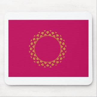 Pink & Gold wrapping paper Mouse Pad