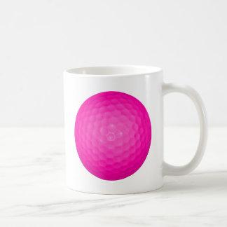 Pink Golf Ball Coffee Mug
