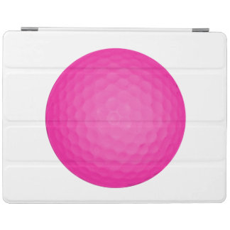 Pink Golf Ball iPad Cover
