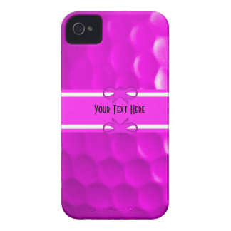 Pink Golf Ball Iphone 4 4S Case iPhone 4 Case-Mate Cases