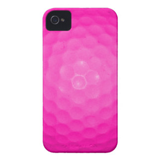 Pink Golf Ball iPhone 4 Case