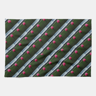 Pink Golf Ball on a mountain golf course Towel