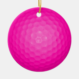 Pink Golf Ball Ornaments