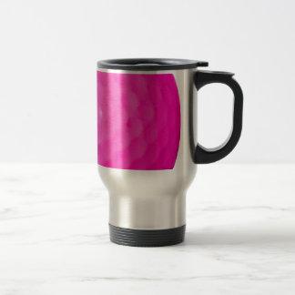 Pink Golf Ball Travel Mug