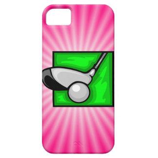 Pink Golf iPhone SE/5/5s Case