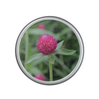 Pink Gomphrena Flower Bluetooth Speaker