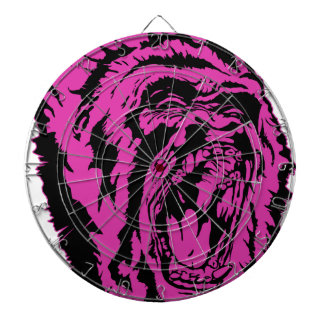 Pink Gorilla Dartboard