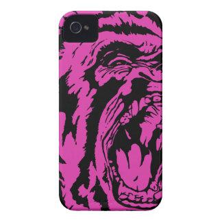 Pink Gorilla iPhone 4 Case-Mate Case