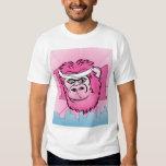 Pink Gorilla with Sweatband Shirt