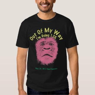 Pink Gorilla Zazzle Bay to Breakers T-Shirt
