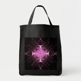 Pink Gothic Princess Fractal Tote Bag