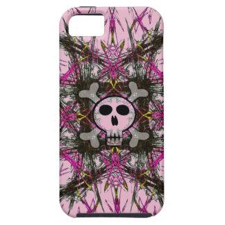 Pink Gothic Skull iPhone SE/5/5s Case