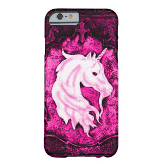Pink Gothic Unicorn Barely There iPhone 6 Case
