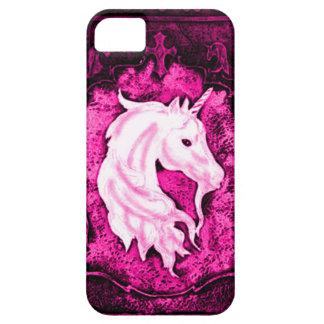 Pink Gothic Unicorn iPhone SE/5/5s Case