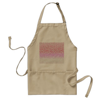 Pink gradient abstract pattern. adult apron