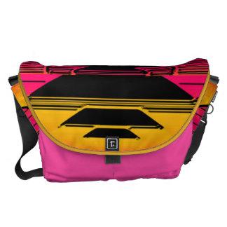 Pink Gradient Courier Bag