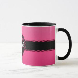 Pink Gradient Monogram Mug