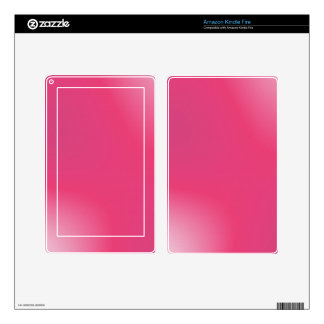 Pink Gradient Pattern Decal For Kindle Fire
