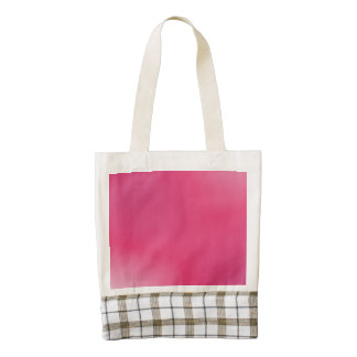 Pink Gradient Pattern Zazzle HEART Tote Bag